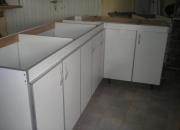 Muebles de cocinas con cantos de aluminio