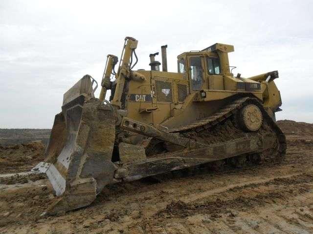 Excavadora bulldozer caterpillar d11 n