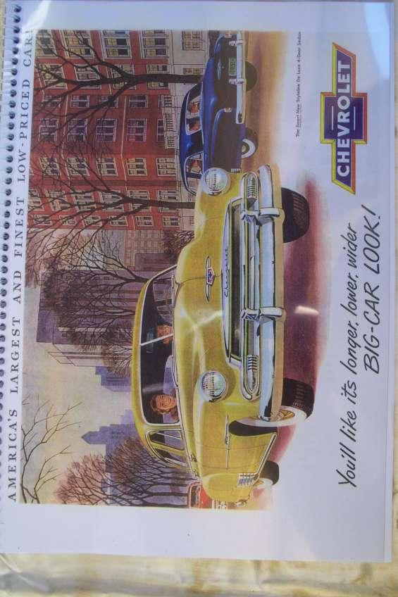 Manual despiece chevrolet de luxe 1951