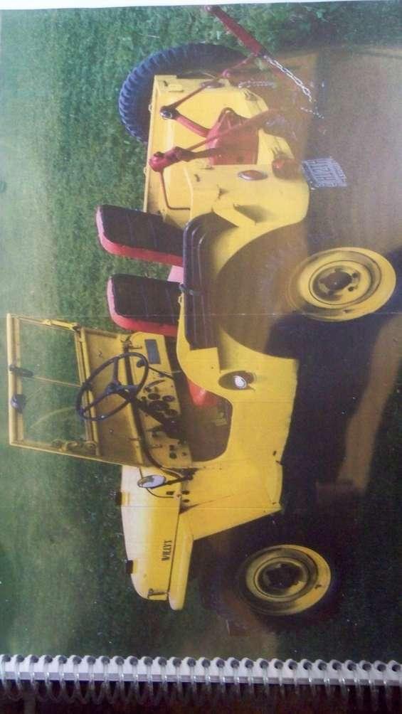 Manual taller jeep willlys 1946