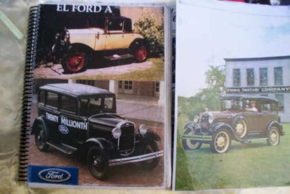 Manual de taller  ford a  1928-31   español