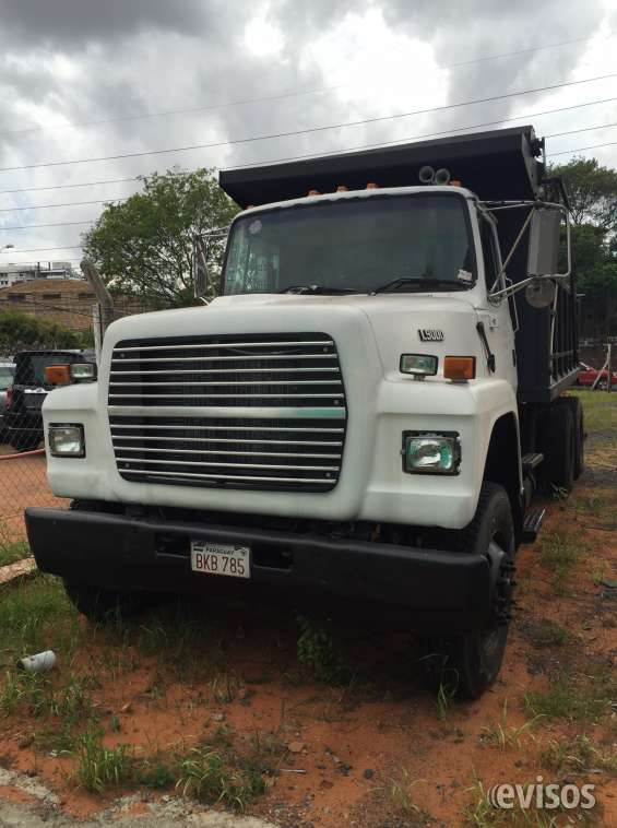 Tumba ford l9000 1995 impecable - oferta 135.000.000