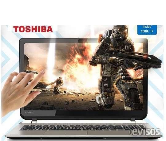 "Toshiba satellite 4k, ultra hd touch-screen15.6"", intel core i7 -6ta generacion, 16gb ddr3"