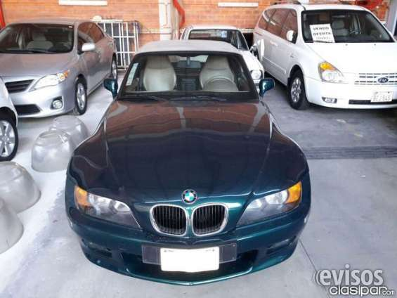 Ofertisima!!!!! bmw z3 roadster, año 2000, unico en su estado