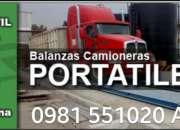 Pesa camiones basculas y balanzas camioneras longhino precios paraguay