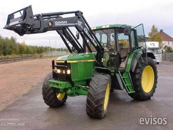 Vendo tractor john deere 6810 con cargador