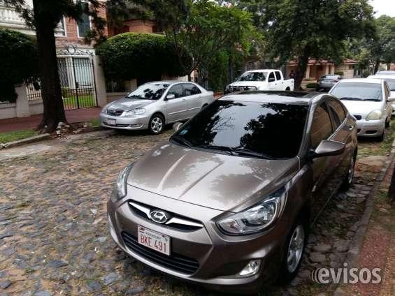 Top promo!!! 2012 hyundai accent - economico color gris, vendo por viaje!!!