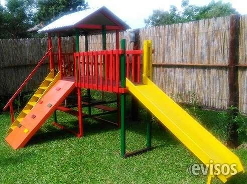Juegos de parques infantiles de madera