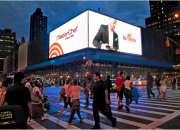 Publicidad en pantallas de video gigantes para ex…