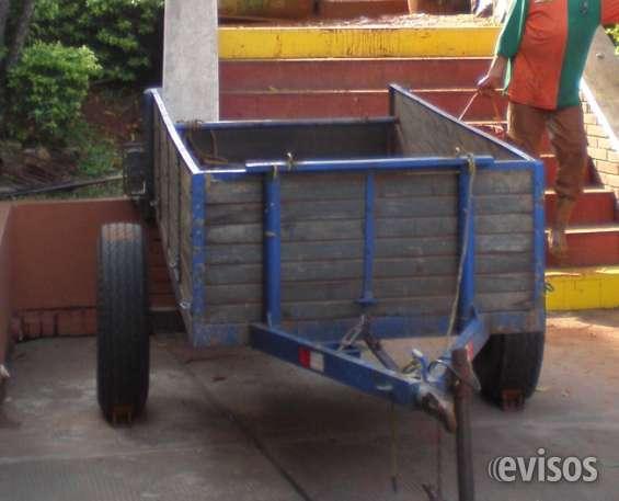 Carrito de carga para remolque