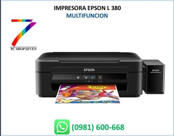 Impresora epson l380 eco tank... 70ml