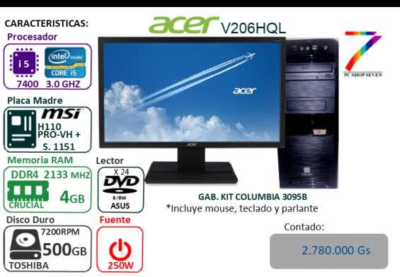 Pc combo core i5 - ddr4 4gb - hdd 500bgb