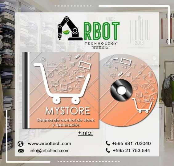 Sistema de facturación multiplataforma para venta y control de stock