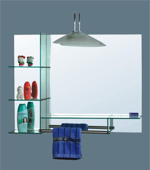 Espejos para baños con repisa
