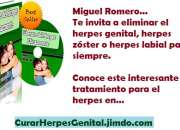 Terapia natural para eliminar herpes – e-book