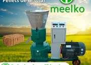 Meelko Peletizadora 200mm electrica 7.5kW para alfalfas y pasturas 150-200kg/h - MKFD200B