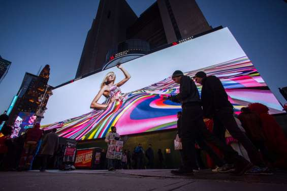 Pantallas gigantes led para publicidad exterior