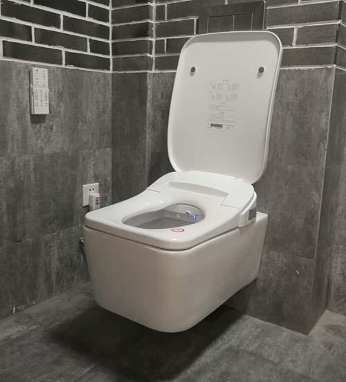 wall hung drainage  intelligent toilet bidet