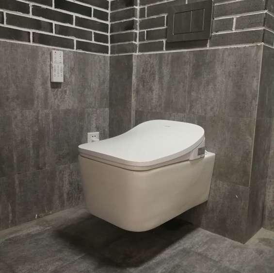 square smart intelligent toilet bidet
