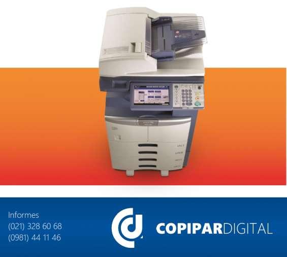 Copipar digital - venta de fotocopiadoras - importaciones