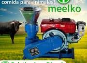 Peletizadora meelko 120 mm 8 hp diese