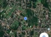 Vendo terreno de 1.184 m2 en Cambyreta - Itapua