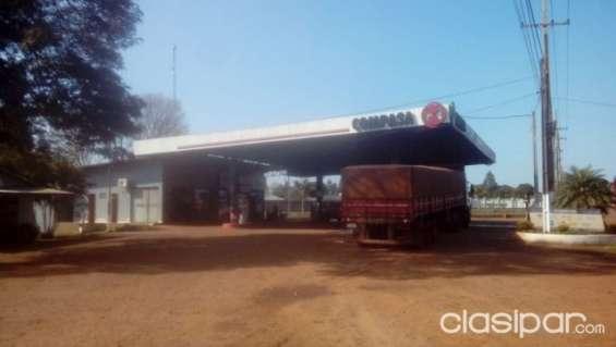 Vendo estacion de servicio en la paloma - canindeyu