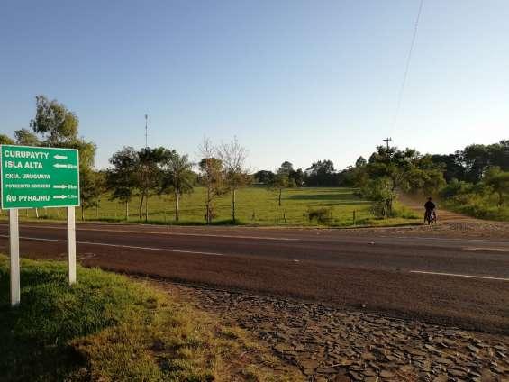 Vendo 27 hectáreas de campo, distrito de general artigas, itapua-paraguay