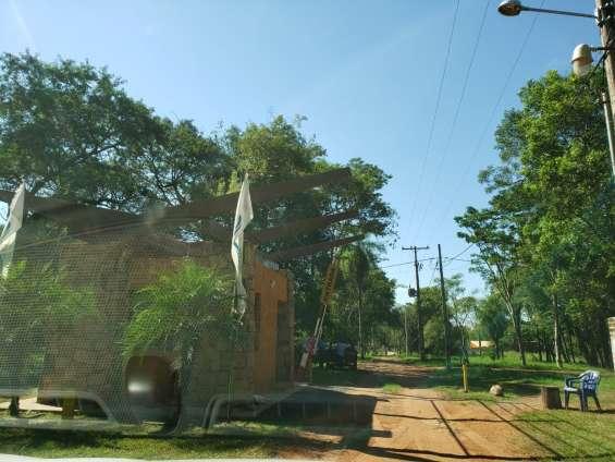 Entrada al barrio cerrado
