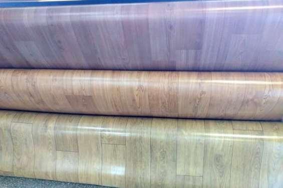 Pisos vinilicos simil madera en paraguay