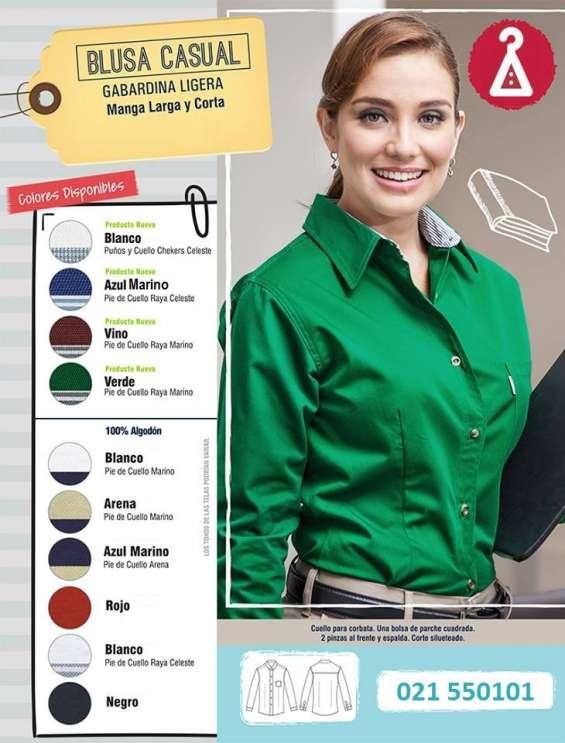Camisa ejecutiva uniformes empresariales