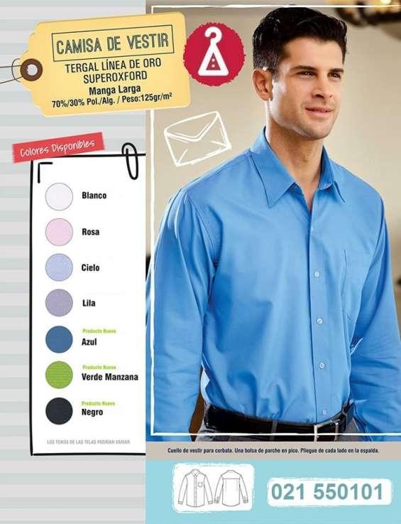Camisa bordada uniformes empresariales