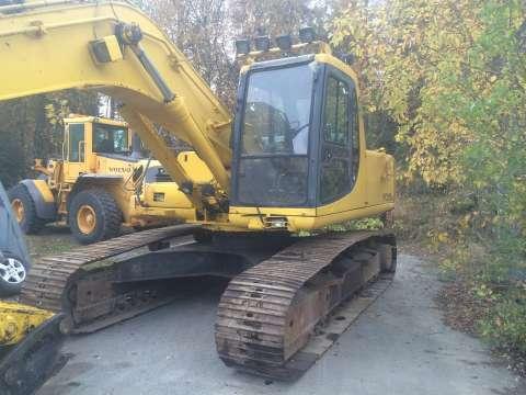 Excavadora. komatsu pc 210 ,: urgente