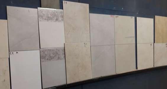Inventario de ceramicas, porcelanatos, bachas, griferia y otros a precios de liquidacion