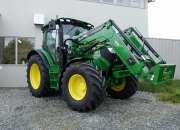 Tractor John Deere 6115 con cargador