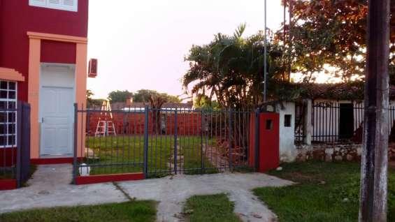 Asuncion paraguay chalet con 2 duplex u$s 96.000 vendo o permuto por gba