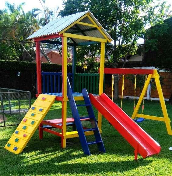 Parques infantiles de madera