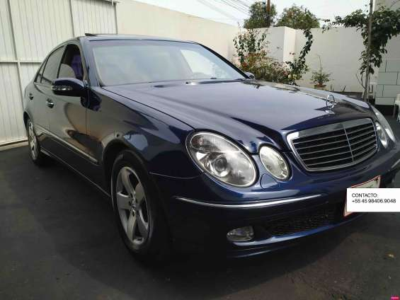 Mercedes e270 cdi diesel 2004 impecable!