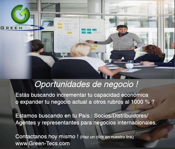 Negocios internacionales oportunidades !