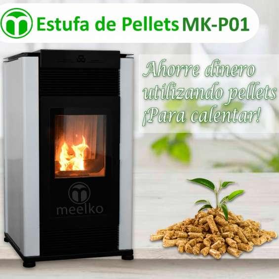 Estufa de pellets meelko mk-p01